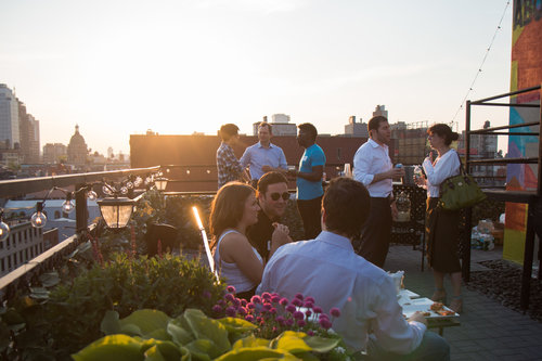 Meet Hospitality Outdoor Event Space