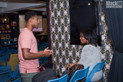 black in advertising event networking