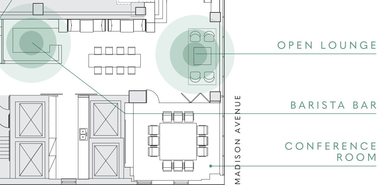 The Water Tower Lounge Floor Plan