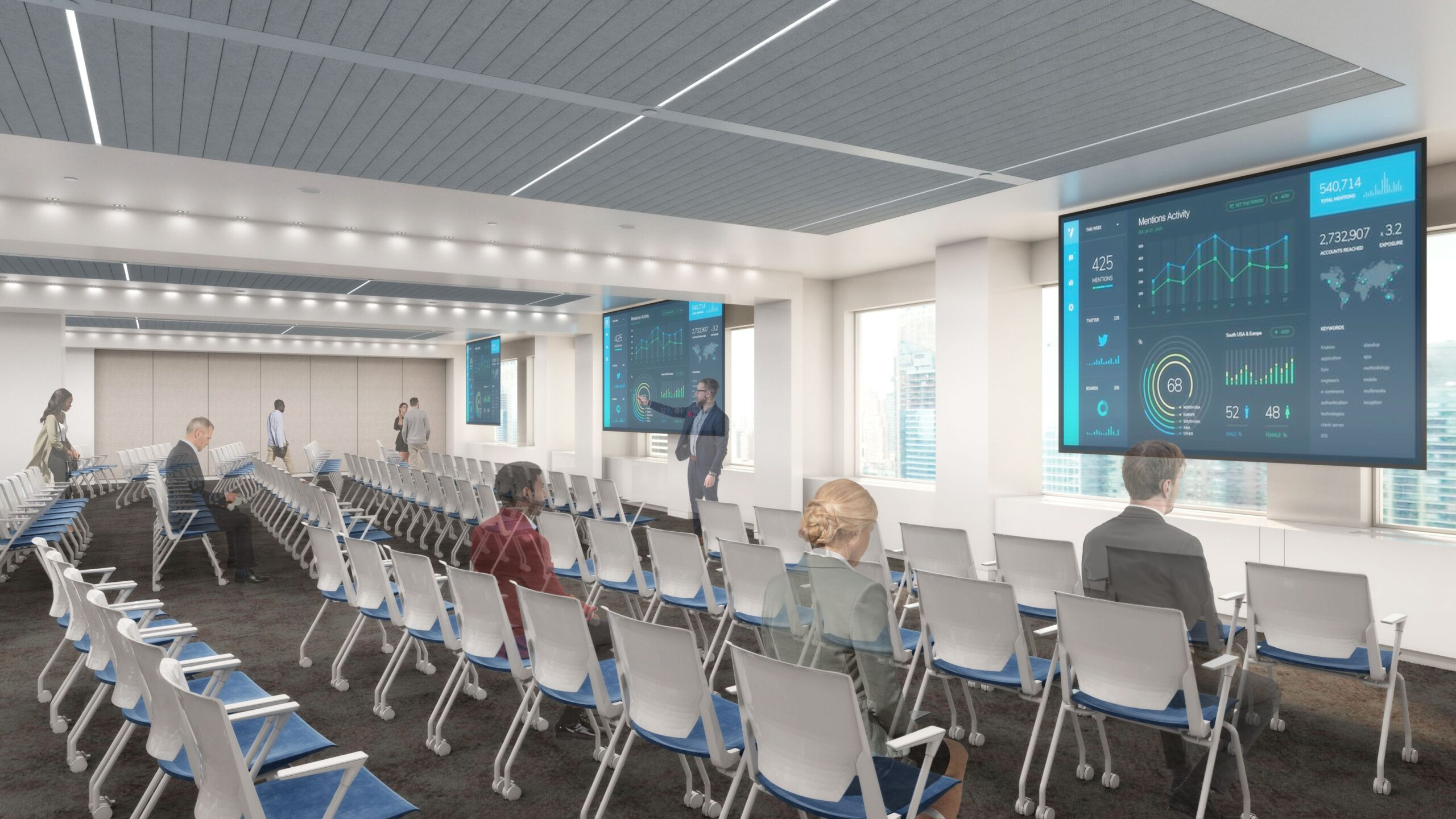 1166 Avenue of the Americas Mosaic Conference Room