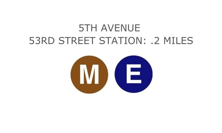 Water Tower Lounge Subway Line Directions M and E Trains